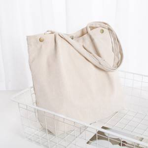 2020 New Fashion Dainty Corduroy Tote Bag