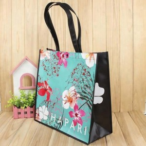 Custom Your Own Non Woven Gift Bag Laminated Shopping Bag