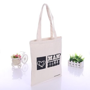 Customizable eco-friendly reusable cotton canvas tote bag, 8oz 10oz 12oz grocery shopping canvas bag with custom logo