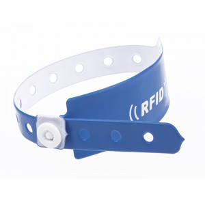 Disposable paper Wristband-PVC1002