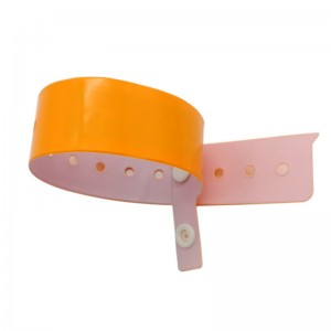 Disposable paper Wristband-PVC1005