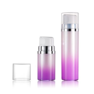 Double Wall Skin Care Cream Use Airless Dispenser Bottle