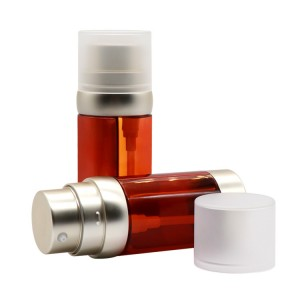 Dual Chamber Round Lotion Bottle for Eye Essence