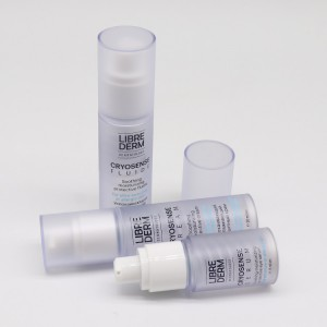 Double Wall Airless Vacuum Inner Capsule Bottle for Genetic Skincare Serum