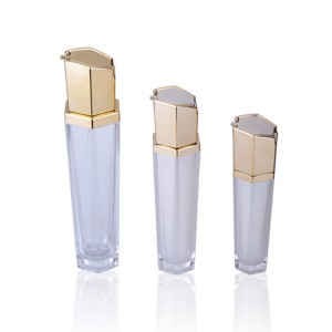 Wholesale 50ml acrylic lotion Cosmetic bottles