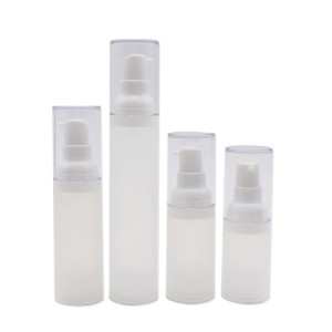 15ml 20ml 30ml 50ml Recycled Matte PP Airless Bottle