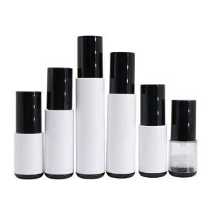 Custom Design 10ml 15ml 20ml 30ml 40ml 50ml Cosmetic Vacuum Airless Pump Bottle