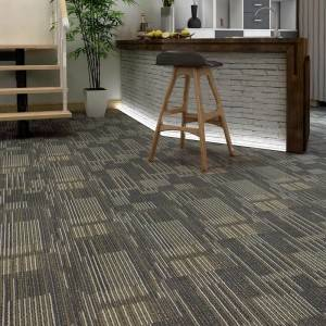 Army Green Carpet Texture SPC Vinyl Tile Plank