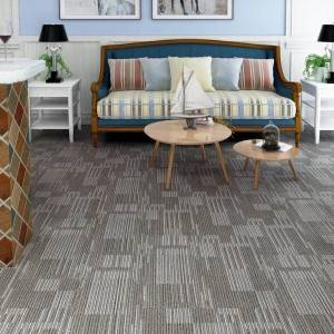 Carpet Pattern SPC Luxury interlocking Flooring Tile