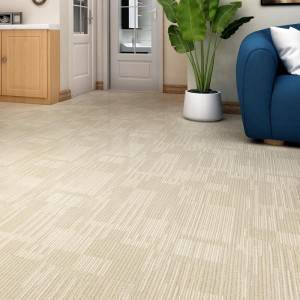 Waterproof Engineered Vinyl Flooring with Carpet Pattern