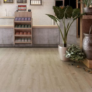Good Quality Light Oak Vinyl Flooring -