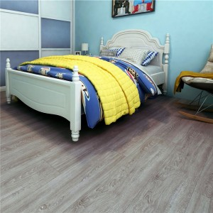 Factory supplied Plain White Vinyl Flooring -