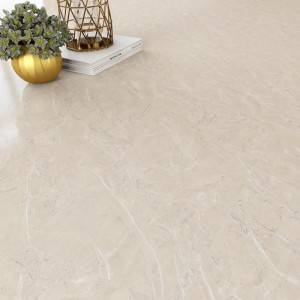 Biege color Marble Grain SPC Click Flooring Tile