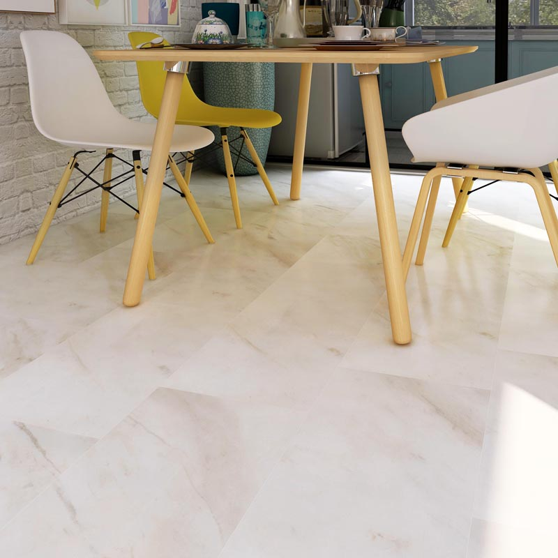 Factory source White Gloss Floor Tiles -