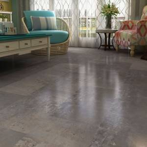New Trend Industrial Style Cement Concrete Look SPC Flooring