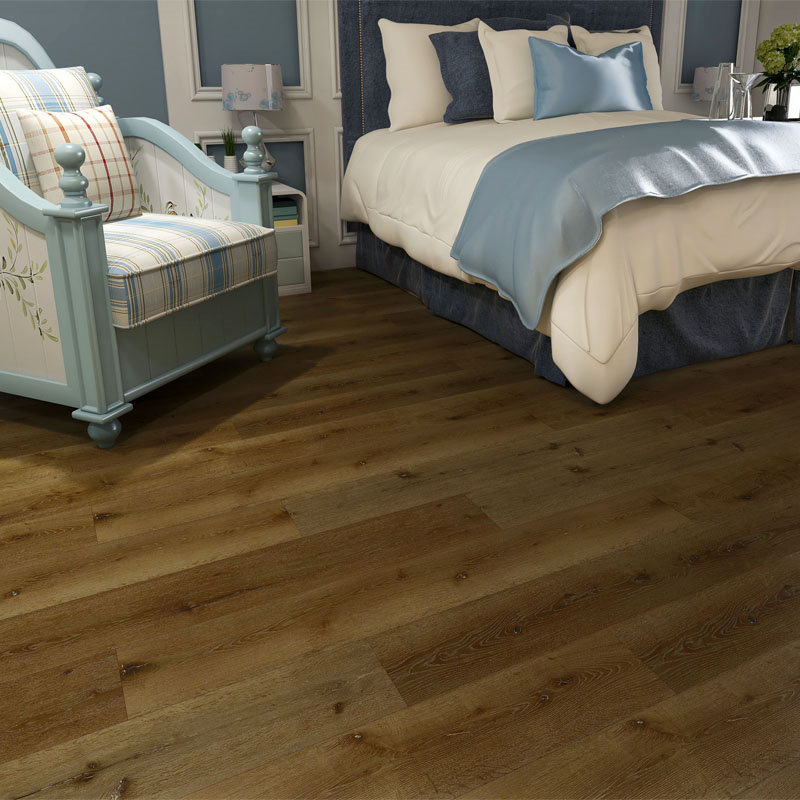 China Cheap price Light Grey Laminate Flooring -