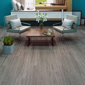 Luxury Vinyl Plank Flooring Click with Foam Back SPC Rigid Core