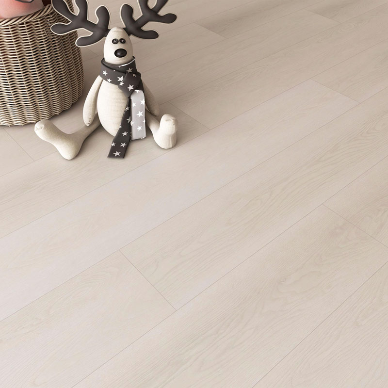 Popular White Wood mihetsika Core Flooring