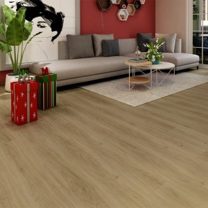 Factory supplied Dark Brown Laminate Flooring -