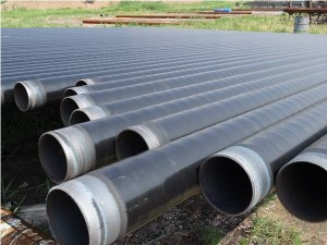 3PE Coated ASTM A106 Seamless Carbon Steel Pipe