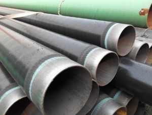 3PE Epoxy Coated Anti-corrosion SSAW / HSAW Steel Pipes