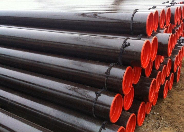 API 5L grao B ASTM A53 A106 trefilados / Hot Rolled Imaxe Seamless Steel Pipe Destaque