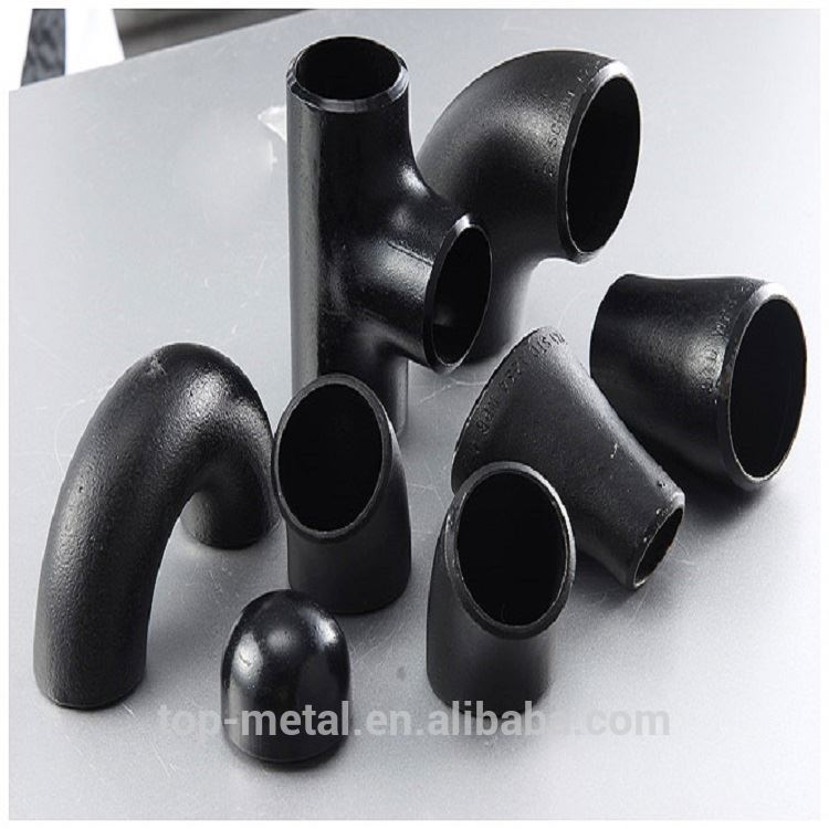 6 sch40 carbon steel pipe fitting elbow
