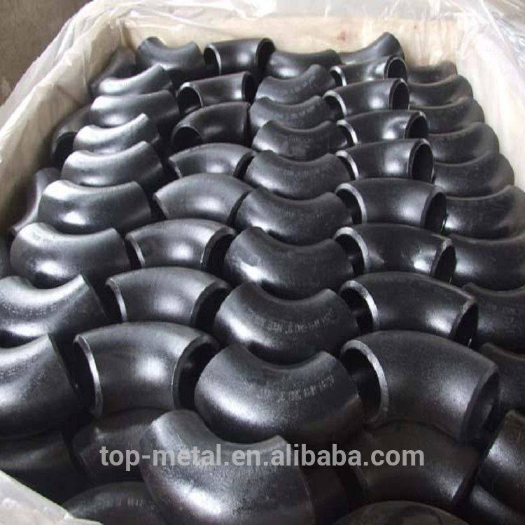 90 degree carbon steel pipe fitting elbow