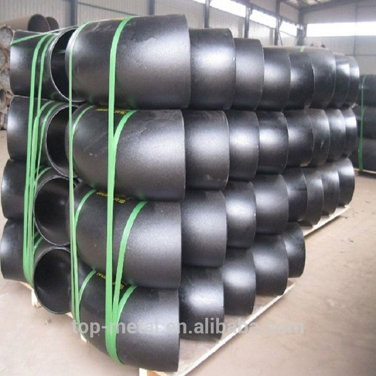 90 degree carbon steel pipe fittings elbow