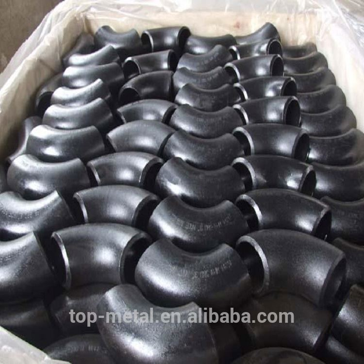 90 degree elbow carbon steel pipe fittings elbow