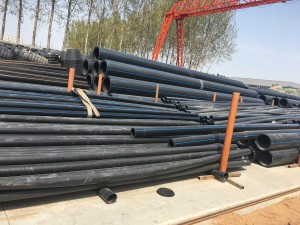 ISO4427 PN16 sdr11 PEHD Sewer pipe 1400mm