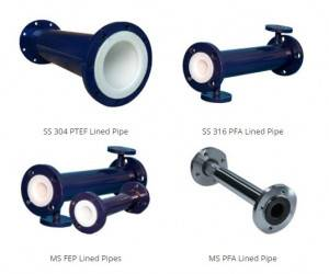 PTFE MAT PIPE reeks produkte