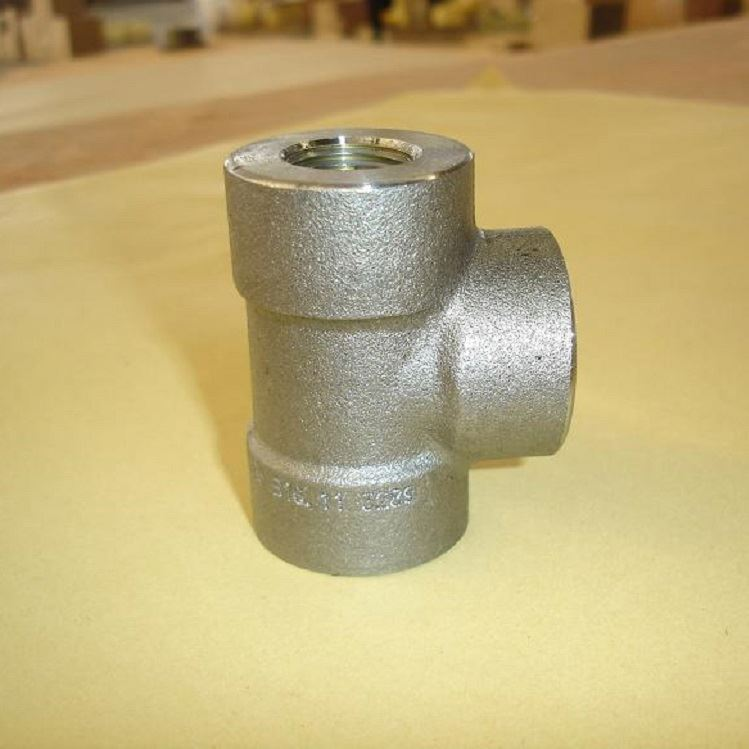 a105 threaded galvanized steel pipe fitting dimensions