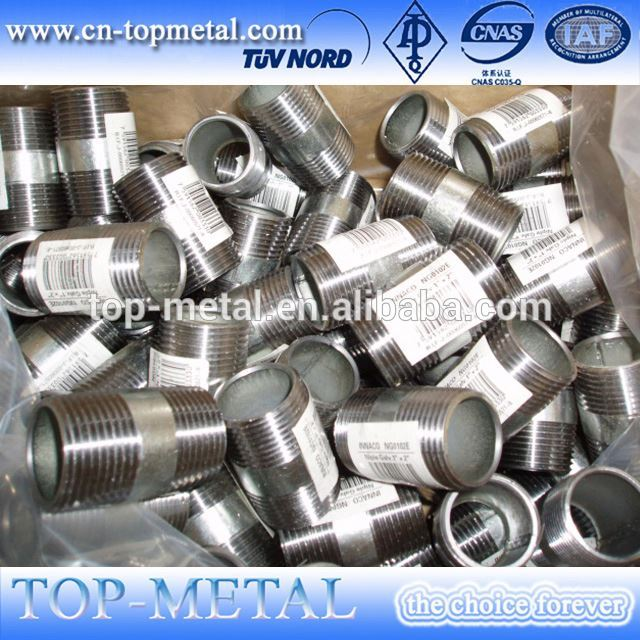 kabéh 2 ganda thread pinuh fittings pipe nipple
