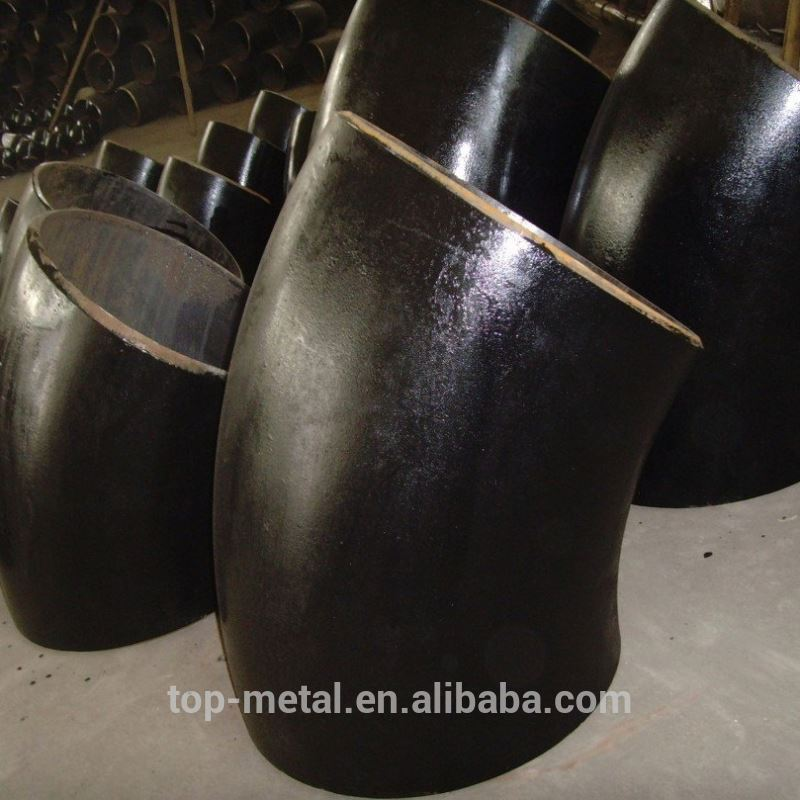 ANSI b16.9 a234 galvanized carbon stielen elbow