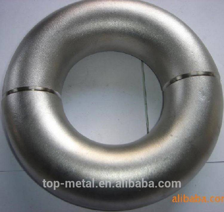 ansi b16.9 carbon steel butt weld 45 degree cs pipe elbow