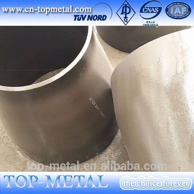 bidi sch40 carbon steel Reducer tube concentricity