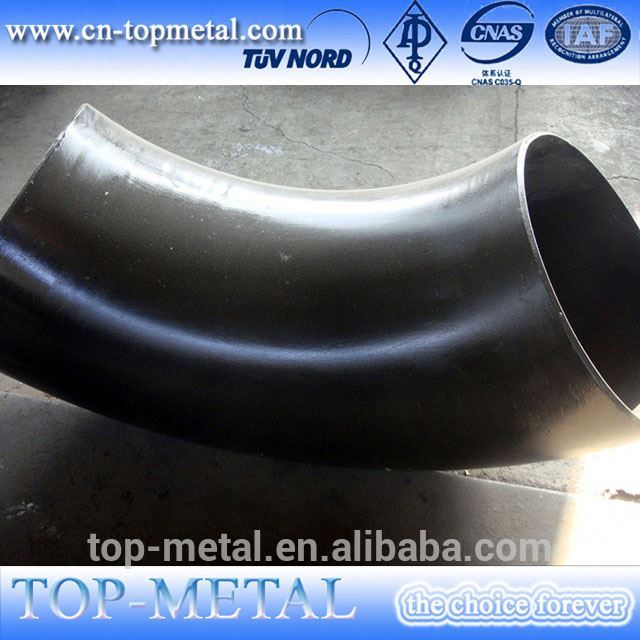 asme b16.9 /din/sgp/en standard lr 90 degree carbon steel pipe elbow