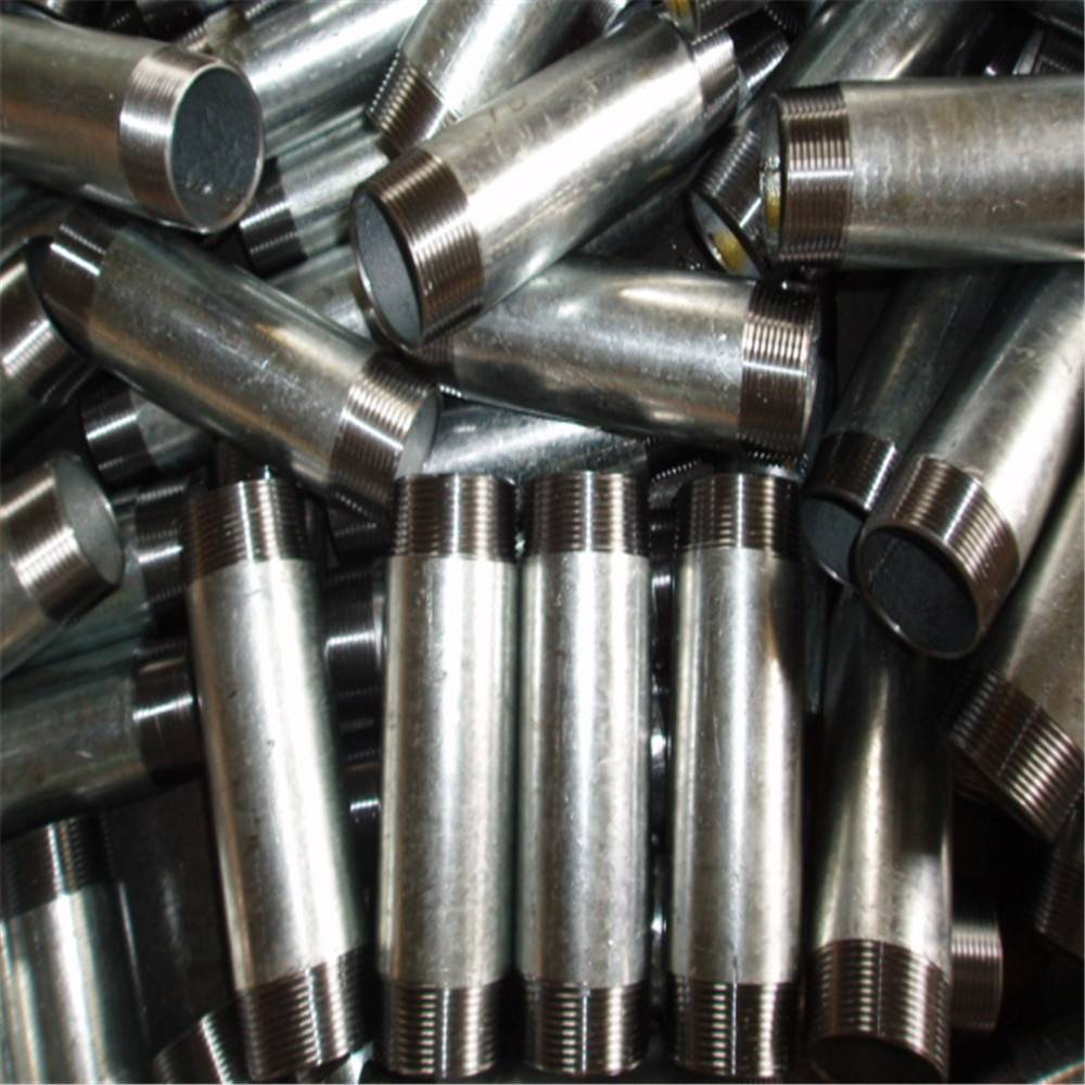 ASTM A733 NPT BSP Carbon steel electro galvanized pipe utong