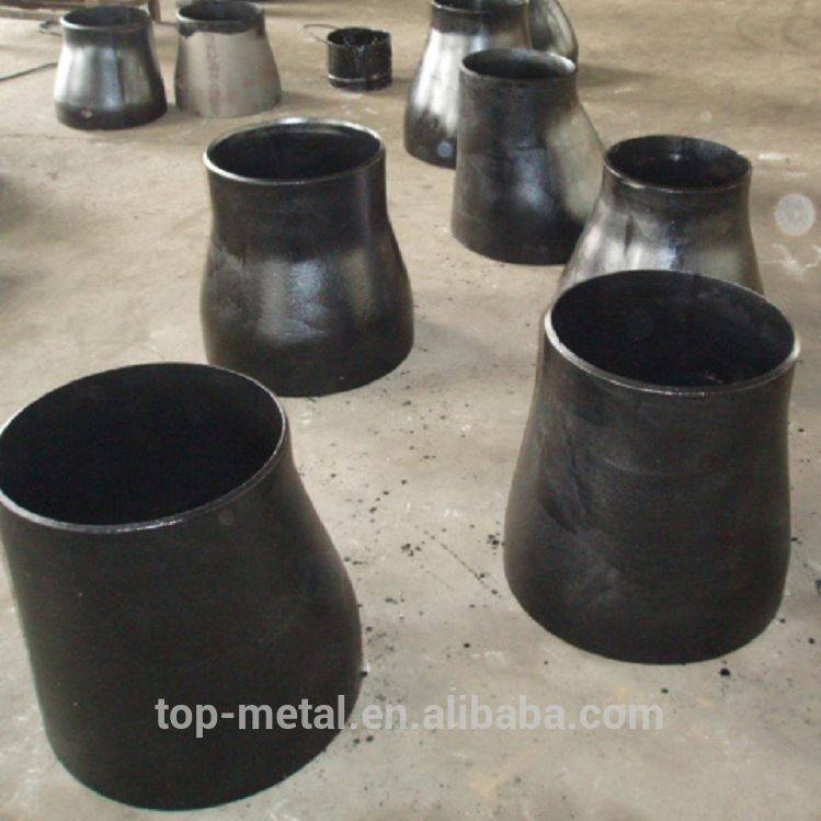 astm بټ weld کاربن فولادو concentric reducer