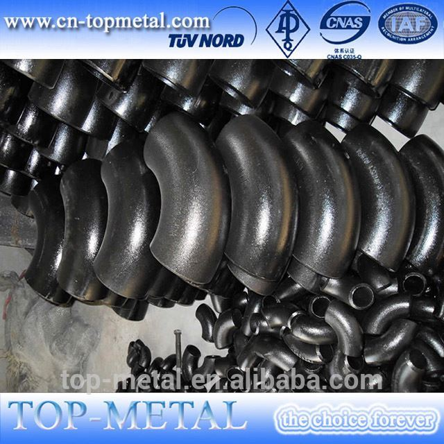 butt welded carbon steel pipe fittings dimension