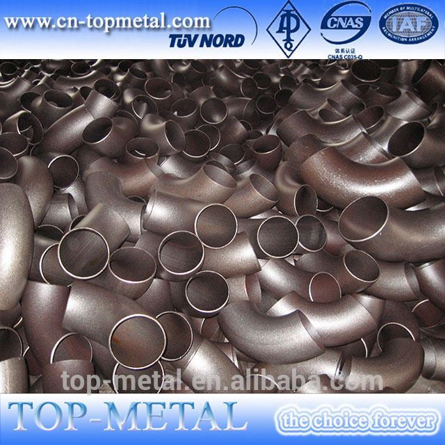 butt welded carbon steel seamless elbow dn150 sch40 elbow