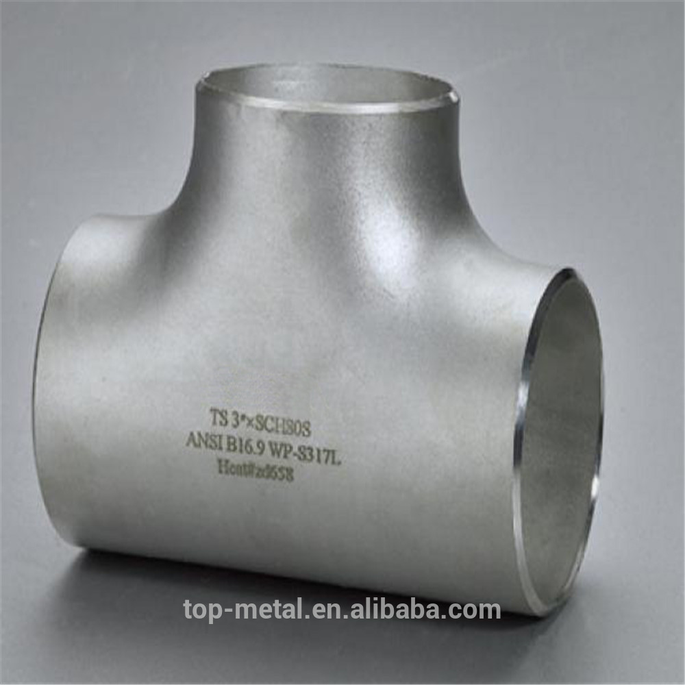 delivery on time stainless steel pipe fittings equal tee