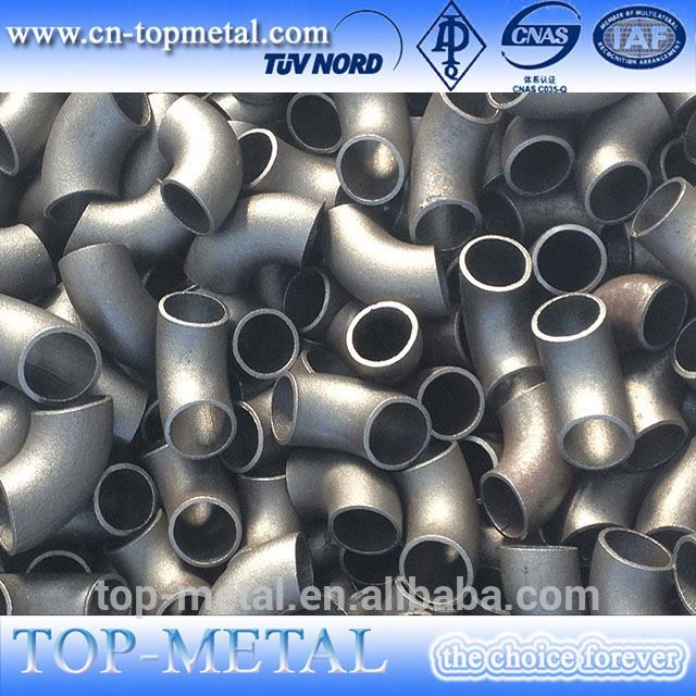 din2605 alloy steel 4 inch l/r 45 deg seamless elbow Featured Image