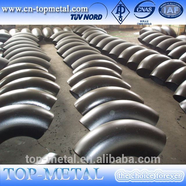 din2605 alloy steel 4 inch l/r 45 deg seamless elbow
