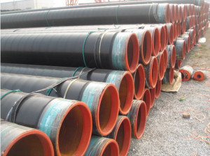 Isolasie Pipe & Anti-roes 3PE Coated API 5L pype vir water