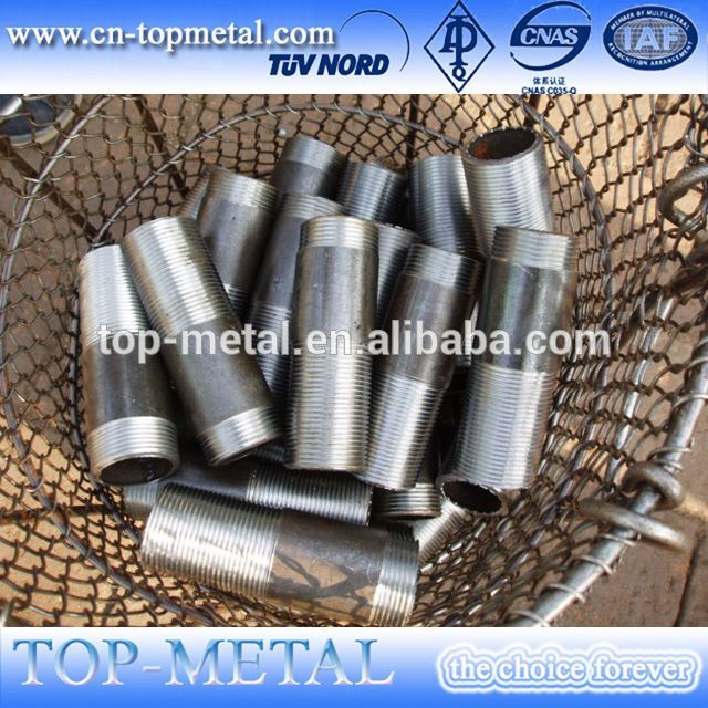 galvanized thread npt pipe gi nipple