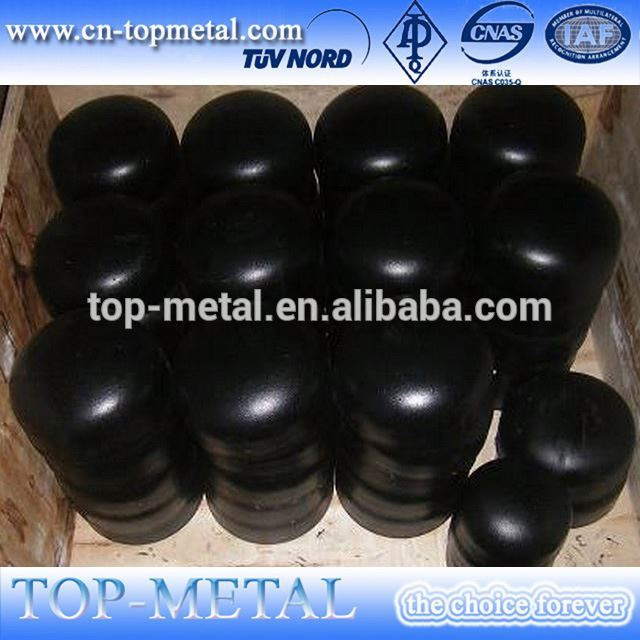 galvanized steel pipe cap