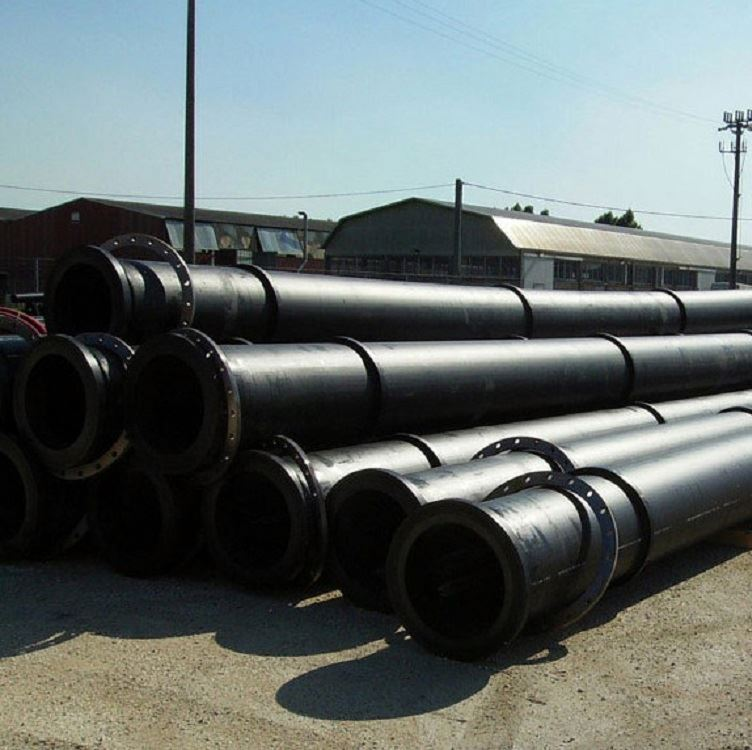 ISO9001:2008 hdpe floating dredging pipe