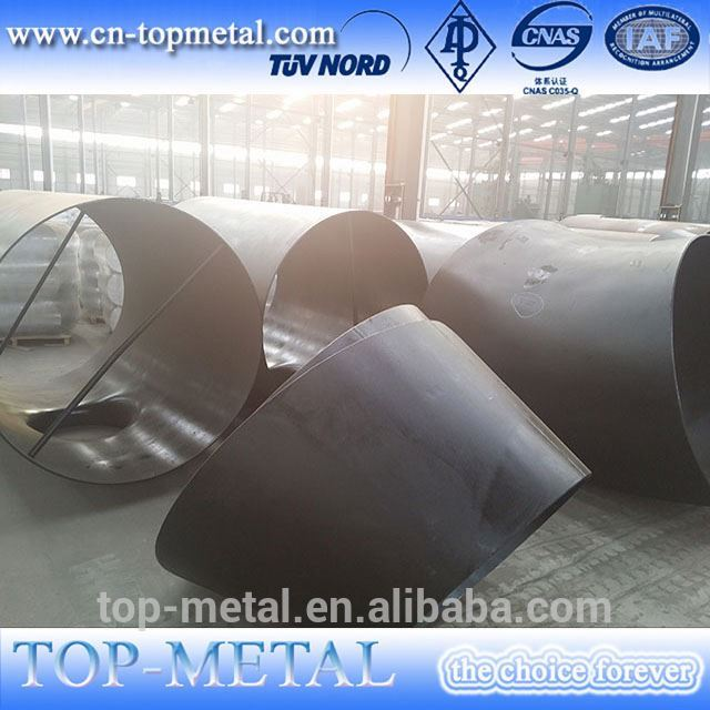 large diameter galvanized carbon steel pipe fitting